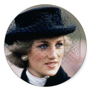 No.44 Princess Diana France 1988 Sticker