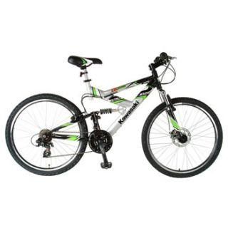 Kawasaki KDX226FS Mens Dual Suspension Mountain Bike