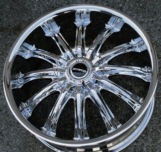 Strada Corona 18 Chrome Rims Wheels Jaguar s Type s Type 18 x 7 5 5H