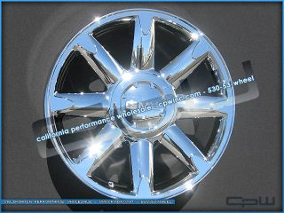 Yukon Denali Tahoe Chrome Wheels Rims 20s New Cadillac Escalade