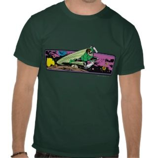 Green Lantern in Space T Shirts
