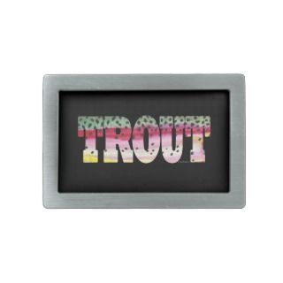 Trout Fly Fishing Belt Buckles