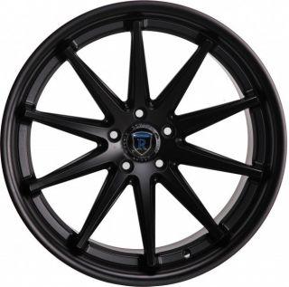 20x9 20x11 28 5x120 Black BMW M3 M5 M6 Camaro SS Concave Wheels