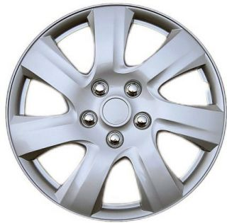 Qty 1 Piece Silver ABS Fits 2010 2011 Toyota Camry 16 Wheel Cover Hub