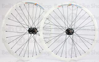 Weinmann Deep V DP18 Track Wheels White Black Fixed Gear