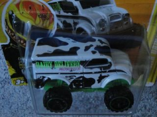 Hot Wheels 2012 028 247 Monster Dairy Delivery Premiere New Models