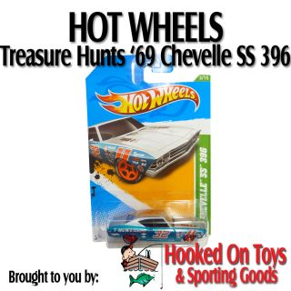 SS 396 Hot Wheels Collectors Treasure Hunts 2012 53 247 V5341