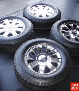 Lincoln Navigator F150 Chrome Manufacture Wheels Rims and Tires