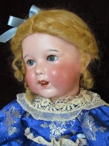 Antique French Character Doll SFBJ 251 Sleep Eye Wobbly Tongue