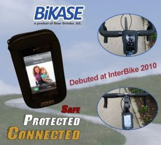 Bikase Bike iPod Smart Phone GPS Case Holder Bag