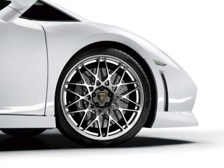 OEM Factory Lamborghini LP560 CORDELIA Polished FORGED WHEELS TIRES