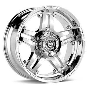 American Racing 18129080212N Artillery Series 181 Chrome Wheels