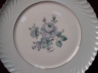 Royal Tettau China Dawn Rose pttrn Cup Saucer Set