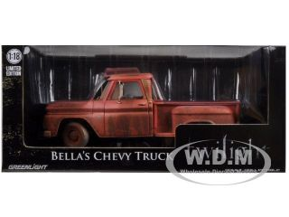 1963 CHEVROLET PICKUP BELLAS TRUCK TWILIGHT (2008) 1/18 BY GREENLIGHT