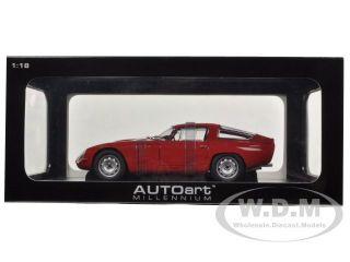 1963 Alfa Romeo Giulia TZ Red 1 18 Diecast Model Car by Autoart 70196
