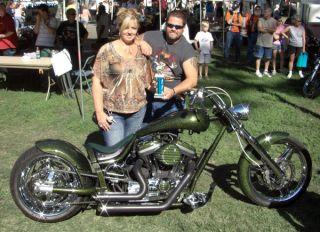 Rolling Chassis Frame Wheel 300 Harley Sportster Motor