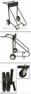 315 lb Outboard Boat Trolling Motor Stand Carrier Cart Dolly Storage