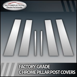 2010 2011 Buick Lacrosse 6pc Chrome Pillar Post Covers