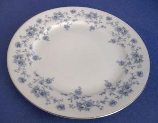 Johann Haviland Bavaria Germany Blue Flower Salad Plate