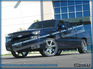 Wheels Rims and Tires Package Deal in 24 inch Fits Chevy Suburban