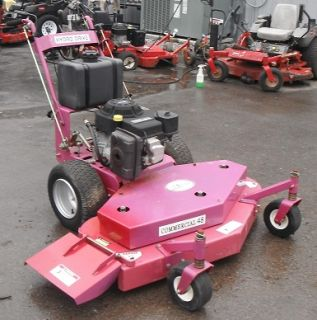 Used 48 Red Hawk 18 HP Kohler New Engine Zero Turn Walk Behind Lawn