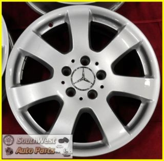 ML350 ML320 R350 17 Silver Wheels Used Factory Rims 65366