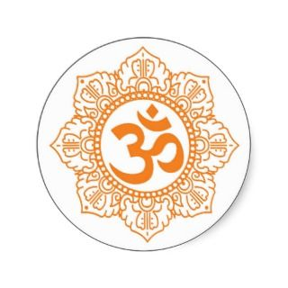Om   Ohm   Aum Symbol Sticker