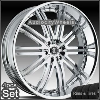 24inch Wheels and Tires Chevy Ford Escalade Nissan Rims