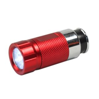 12V Output Car Cigarette Lighter Rechargeable LED Flashlight Torch