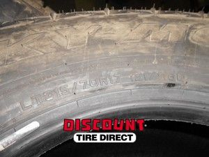 Used 315 70 17 Falken Rocky Mountain ATS Tires 70R R17
