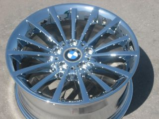 STOCK  17 FACTORY BMW 323i 328i 335i 528xi 535xi CHROME WHEELS RIMS