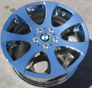 FACTORY BMW 323i 328i 330i 335i OEM CHROME WHEELS RIMS EXCHANGE STOCK