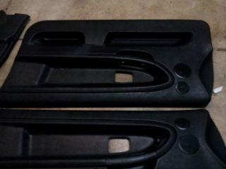 92 99 Bmw E36 2 Door Panels BLACK SET 318i 325i 328i M3 FRONT & REAR