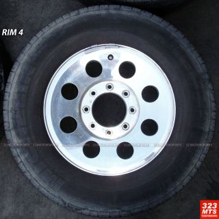 Wheels Fit on Ford F250 F150 Wheels Rims Used Michelin Tires