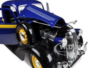 Brand new 132 scale diecast model of 1936 Dodge Pickup Truck Blue die