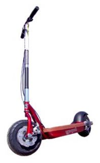 New Go Ped ESR750EX Electric Powered City Scooter Candy Apple Red