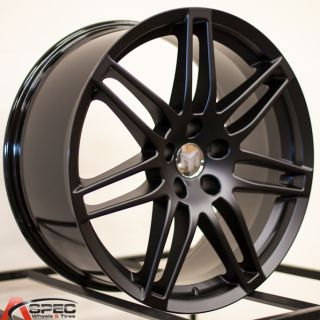 19 RS4 Style Black 5x112 Wheel Fit Audi A4 B4 B5 B6 A5 A6 A7 A8 S4 S5