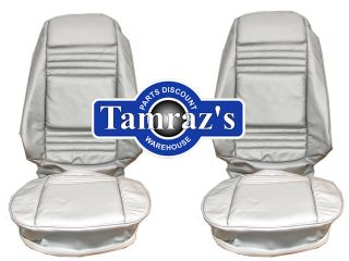 79 Trans Am Silver Front Rear Seat Covers 10th Anniv