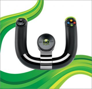 Xbox 360 Wireless Speed Wheel Racing Driving Controller Microsoft