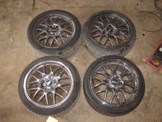 BBS Replica 18 Wheel Set w/ Tires 92 05 E36 E46 318i 325i 325is 328i