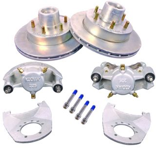 Kodiak 12 Complete Trailer Disc Brake Kit New