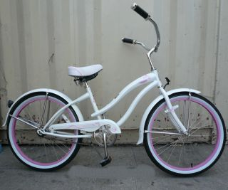 New 24 Beach Cruiser Bicycle Bike Micargi Rover