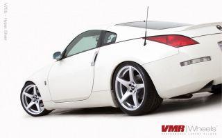 VMR 19 inch Hyper Silver V705 Wheels Nissan Infiniti 350Z 370Z G35