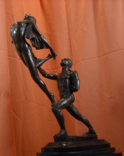 Modern Dance Bronze Statue Ballet Sculpture 2 on Sale