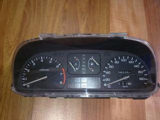 JDM EF Honda Civic CRX Gauges Cluster Speedometer Tachometer EF2 EF3