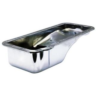 New Ford FE Front Sump Oil Pan Chrome Steel