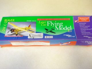 Dumas Aircraft DH C 2 Beaver Free Flight Model Airplane Kit