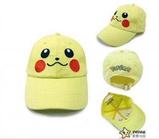 Pokemon Satoshi Ash Ketchum Baseball Cap Hat Cosplay Gift Halloween