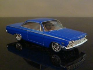 62 Chevy Bel Air 409 Bubble Top 1 64 Limited Edition