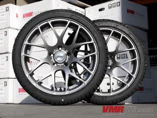 VMR 19 inch Gunmetal V710 Wheels Nissan Infiniti Sedan 350Z 370Z G35